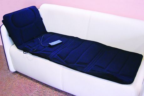 £33.99 for a full body heated massage mat!