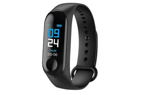 Smarttracker Watch med mange smarte funktioner, sort -  Uret har et hav praktiske funktioner, inklusiv Bluetooth opkald og mulighed for at administrere dine daglige rutiner med en skridttæller, kalorietæller og søvnmonitor. Derudover har denne nye opdater