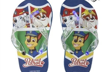 Chinelos com LED The Paw Patrol 73083 - 27 por 15.84€ PORTES INCLUÍDOS