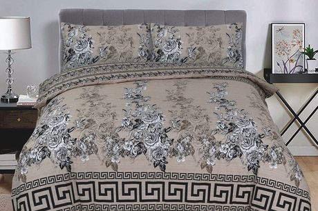 £11.99 for a modern printed double duvet set, £12.99 for a king-size from Imperial Beddings!