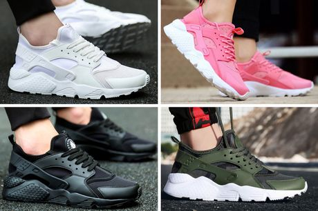 £16.99 for a pair of unisex chunky sole trainers in black, white, army green, pink or black and white and UK sizes 5-10 from Pink Pree!