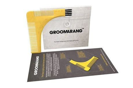 From £2 for a Groomarang Beard Shaping & Styling Template Comb from Forever Cosmetics - save up to 80%