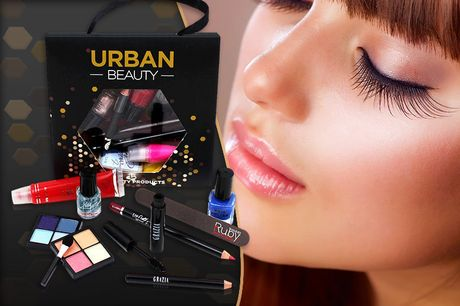£4.99 instead of £14.99 for a 10pc Urban Beauty Lucky Dip Gift Bag from Forever Cosmetics - save up to 67%