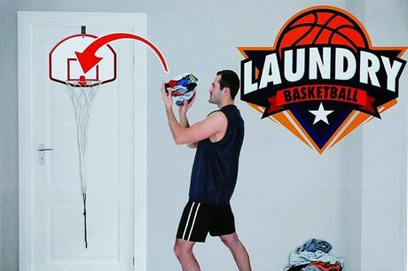 £9.99 instead of £29.99 for a Basketball Laundry Net from London Exchain Store - save 67%