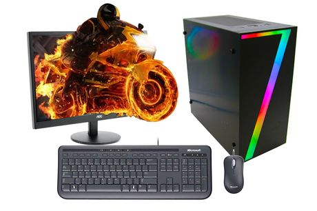 From £209 for a refurbished 1TB Nvidia GT 710 gaming PC from Stone Refurb