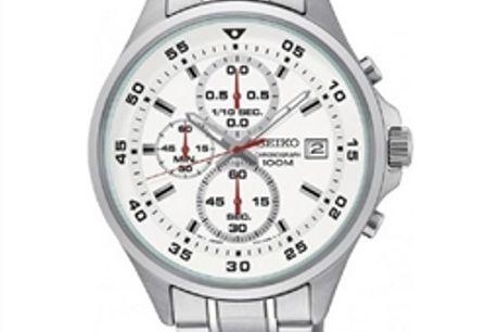Relógio masculino Seiko SKS623P1 (Ø 43 mm) por 200.64€ PORTES INCLUÍDOS