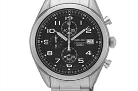 Relógio masculino Seiko SSB269P1 (Ø 45 mm) por 257.40€ PORTES INCLUÍDOS