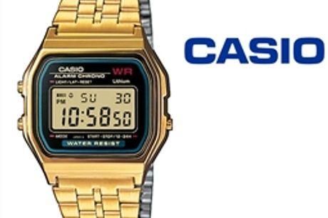 Relógio Casio® A159WGEA-1EF por 65.34€ PORTES INCLUÍDOS