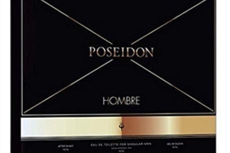 Conjunto de Perfume Homem Poseidon (3 pcs) por 25.74€ PORTES INCLUÍDOS