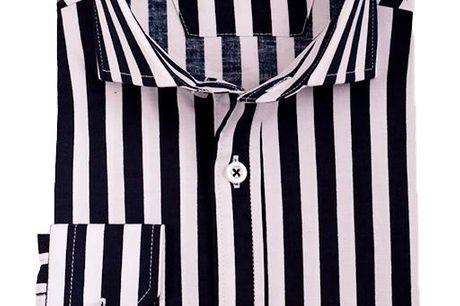 Performance Skjorte Kim. .De populære Performance skjorter er tilbage på hylderne, stadig i den super bløde bomuldskvalitet, med masser af stræk. Udover at være så lækker og blød at man ikke kan mærke at man har den på, så er den også åndbar, og gode venn