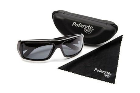 Set de 2 gafas de sol polarizadas de color negro con funda