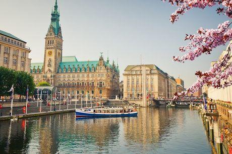 3 of 4 dagen Hamburg Incl. ontbijt, parkeren & sauna entree<br /> Annuleren i.v.m. Corona is mogelijk<br /> Te boeken t/m december
