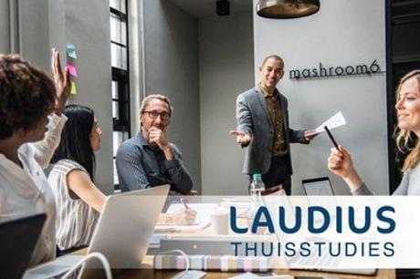 Online cursus Marketing Manager, naar keuze met hulpdocent en examen via Laudius