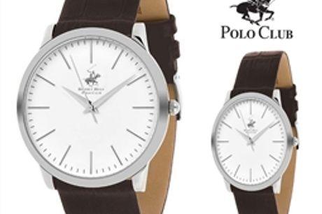 Conjunto de 2 Relógios Beverly Hills Polo Club® Homem e Senhora por 64.02€ PORTES INCLUÍDOS