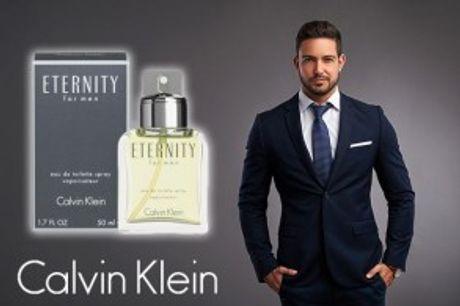 """CK Eternity Men (50 ml).  Eternity Men fraCalvin Klein har en frisk og maskulin""""coolness""""."""