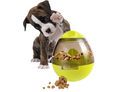 £8.99 instead of £39.99 for a pet feeder food ball from Magic Trend - save 78%