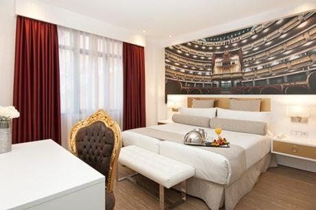 Madrid: habitación doble o twin para 2 personas en Hotel Mayorazgo 4*