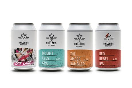 £16.99 for a 12-pack of assorted beers from Dhillon's Brewery