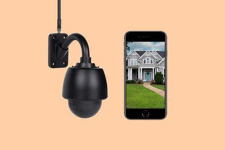 Beveiligingscamera voor buiten Kijk mee via je smartphone of tablet<br /> HD beeldkwaliteit dag en nacht<br /> Inclusief 32 GB geheugen