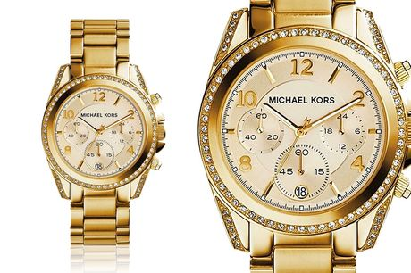 £109 for a Michael Kors ladies Lexington chronograph watch from CJ watches!