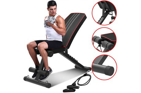 £49.99 instead of £129.99 for a adjustable workout gym bench from Hirix - save 62%