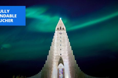£239 -- Central Reykjavik: deluxe 2-night stay, save 60%