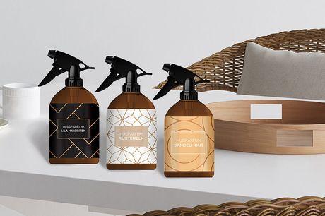 Set van 3 huisparfums Een unieke geurbeleving in huis<br /> 3x 300 ml<br /> Ook leuk om cadeau te geven