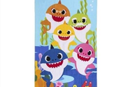 Toalha de Praia Baby Shark Azul (70 x 140 cm) por 16.50€ PORTES INCLUÍDOS