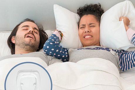Anti-snork næse dilator. Det er en enkel og effektiv løsning til at forhindre den irriterende snorkelyd. Den er perfekt til at sove med og den fremmer vejrtrækningen, hvilket fører til en bedre søvnkvalitet Derudover kan du bruge den til at lindre en stop