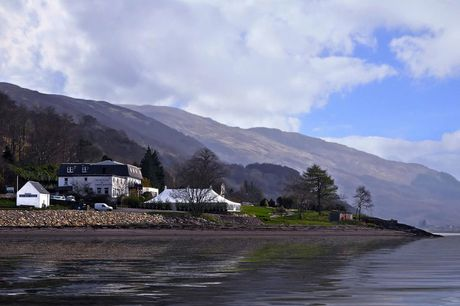 A Scottish West Highlands stay at The Onich Hotel for two people with breakfast, three-course dinner and 12pm late check out. £89 for one night, £159 for two nights or £215 for three nights - save up to 55%