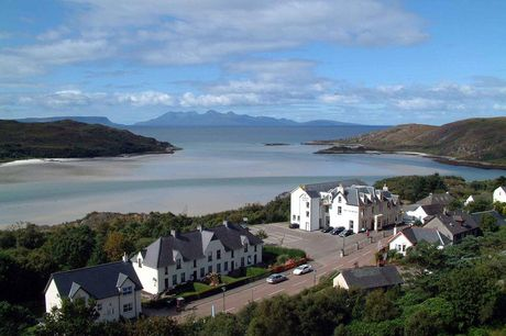 A Morar, Scottish Highlands stay at The Morar Hotel for two with three-course dinner, breakfast and 12pm late check out. £89 for an overnight stay, £159 for a two-night stay with dinner on first night, or £215 for three nights - save up to 59%