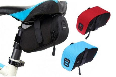 £6.99  for a compact bike saddle bag from Wish-Imports!