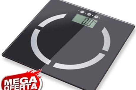 MEGA OFERTA: Balança Digital Inteligente de Peso, Gordura Corporal, Massa Muscular, Proporção de Água e Massa Óssea por 18€. PORTES INCLUÍDOS.