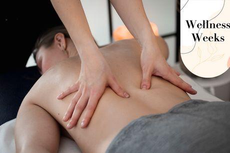 60 min. valgfri massage. Giv lidt ekstra energi til dig selv - og en du holder af