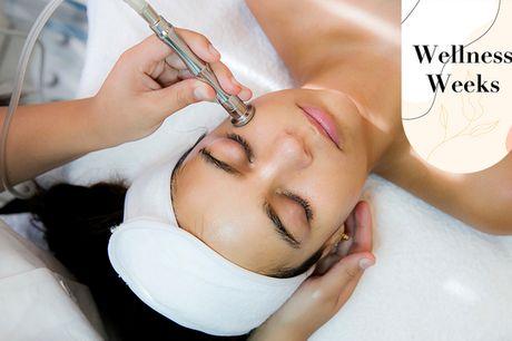 Luksus-ansigtsbehandling. Bekæmp alderstegn, tør hud eller akne med Exuviance