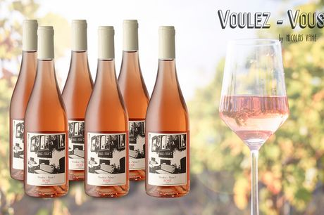 6 el. 12 flasker vin – hvid, rosé el. rød. Glæd dig til et godt glas vin i forårs- og sommersolen – Gratis fragt!