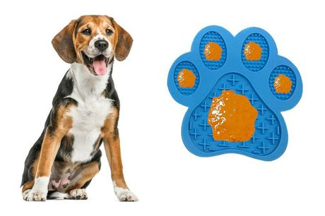 £7.99 for a pet lick food mat in blue, green or red from J&Y Distribution!