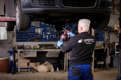 Undervognsbehandling. Beskyt din bil mod rust, og forlæng dens levetid