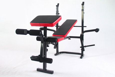 £99 instead of £249 for an adjustable weight lifting bench from Buyer Empire - create your perfect home gym and save 60%