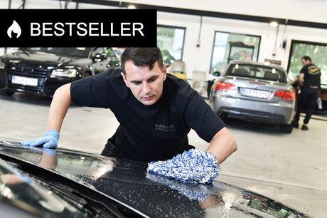 Ind- og udvendig bilvask. Få køreglæde hos det anmelderroste sted – du kan også få renset sæderne!