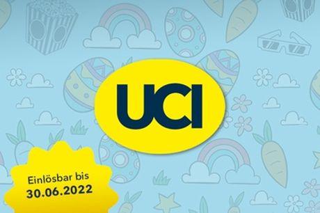 2, 5 oder 10 Kinogutscheine für alle 2D-Filme inkl. Film- & Platzzuschlag in den UCI Kinos (bis zu 54% sparen*)