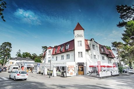Polnische Ostseeküste:  2-14 Nächte für Zwei mit Halbpension, opt. Massage oder Körperbehandlungen,im New Corner Hotel