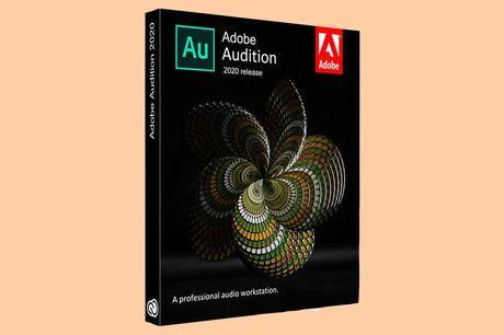 Licentie Adobe Audition Levenslang geldig | versie 2020<br /> Incl. Engelstalige cursus en certificaat<br /> Alleen voor Windows