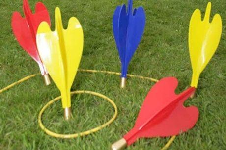 Outdoor Garden Lawn Giant Darts Game