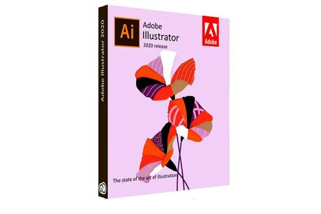 Licentie Adobe Illustrator Levenslang geldig | versie 2021<br /> Incl. Nederlandse cursus en certificaat<br /> Alleen voor Windows