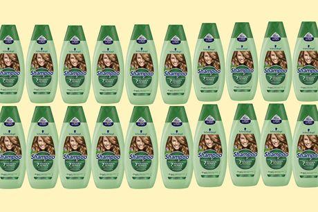 20 stuks Schwarzkopf 7 kruiden shampoo Geschikt voor elke haarsoort<br /> Helpt het haar fris en luchtig te houden<br /> Versterkt het haar