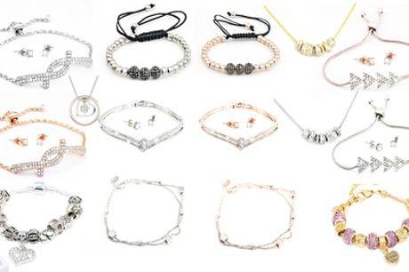 Set joyería de 1 o 2 piezas hecho con cristales de Swarovski®
