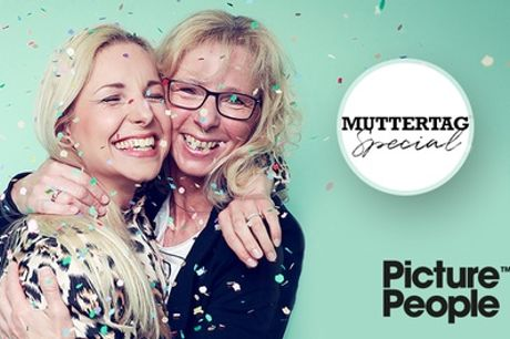 Mutter-/Vatertag-Special: Fotoshooting bei PicturePeople inkl. Make-up und 2-4 Bilder (bis zu 78% sparen*)