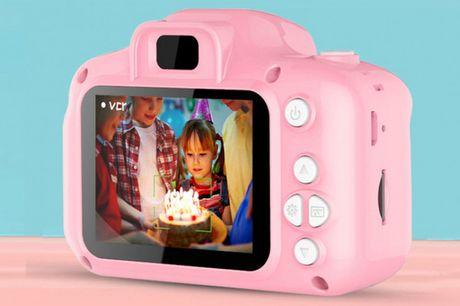 Digitalt kamera til børn. Timevis af kreativ sjov til de mindste - inkl. fragt
