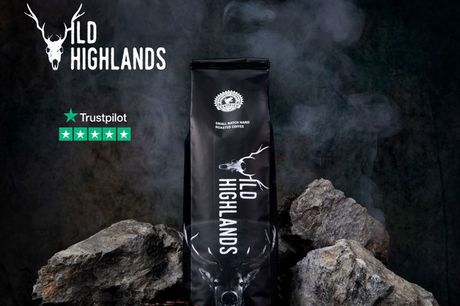 £9 for one bag of luxury coffee from Wild Highlands Coffee. £15 for two bags, or £19.99 for three bags
